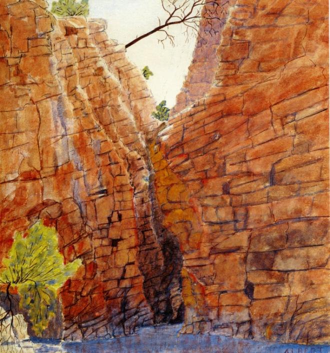 albert-namatjira-redbank-gorge-macdonnell-ranges-1936