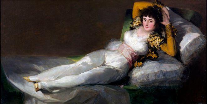La Maja Vestida 1803, Francisco de Goya