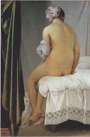 La Grande Baigneuse 1808, Jean-Auguste-Dominique Ingres