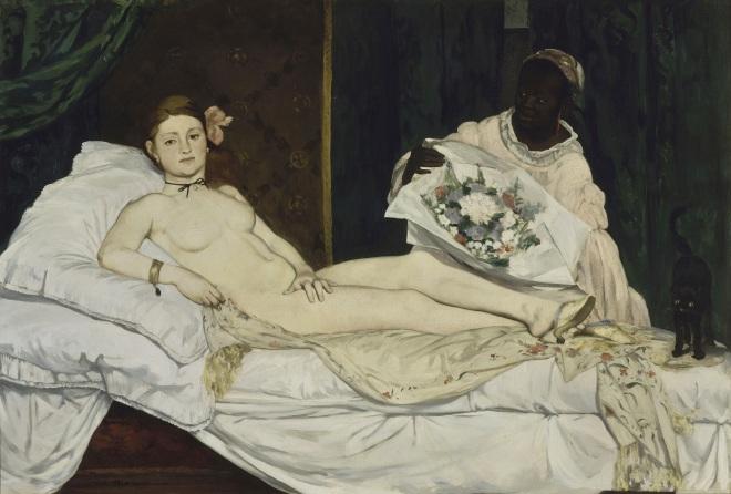 Olympia 1863 – Edouard Manet
