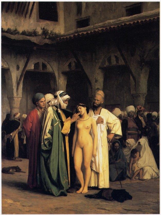 The Slave Market 1866, Jean-Léon Gérôme
