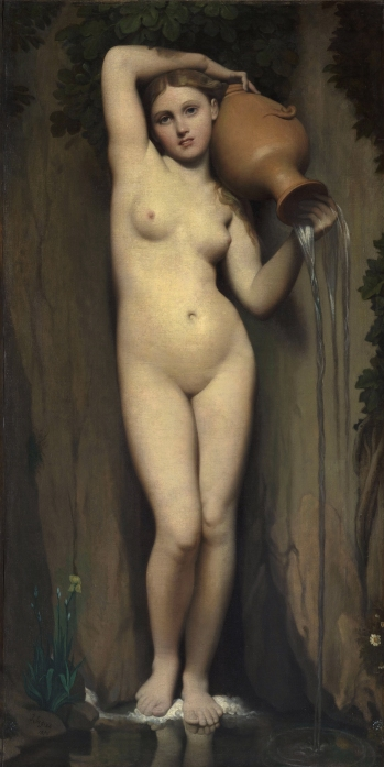 La Source 1856, Jean-Auguste-Dominique Ingres