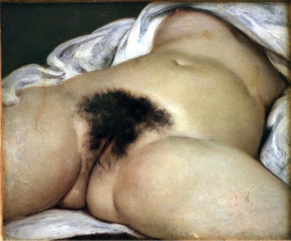 L'Origin Du Monde 1866, Gustave Courbet
