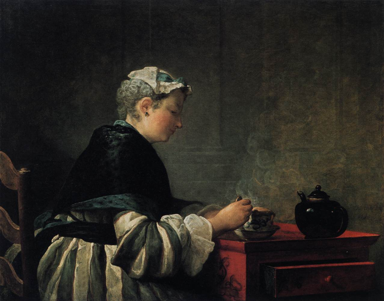 Jean_Siméon_Chardin_-_Woman_Taking_Tea_-_WGA04749